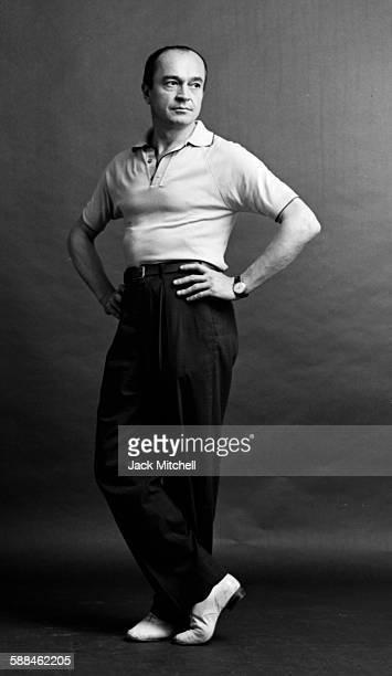 Choreographer Yurek Lazowski photographed October 15, 1962.