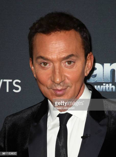Choreographer/competition judge Bruno Tonioli poses at ABC's 'Dancing with the Stars Athletes' Season 26 Finale on May 21 2018 in Los Angeles...