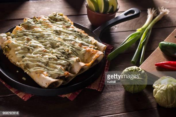 Chorizo-Enchiladas