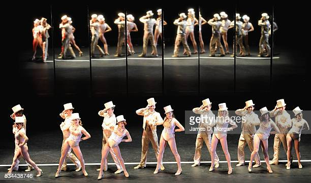 Chorus Line media call held in Sydney for the famous Broadway show on July 20 2012 in Sydney Australia