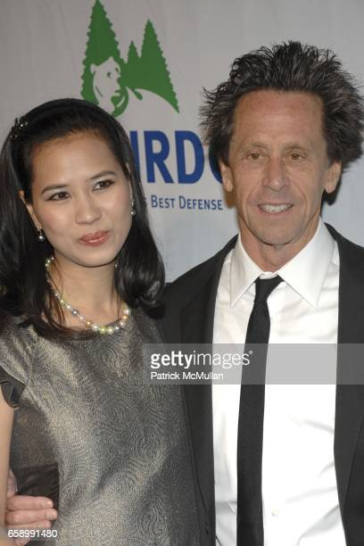 Chosan Nguyen and Brian Grazer attend National Resources Defense Council 20th Anniversary Celebration at Beverly Wilshire Hotel on April 25 2009 in...