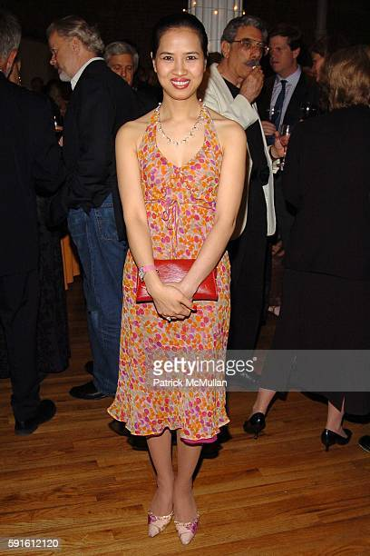 Chosan Nguyen attends The 2005 Annual ACE Award Dinner at The Puck Building on June 1 2005 in New York City