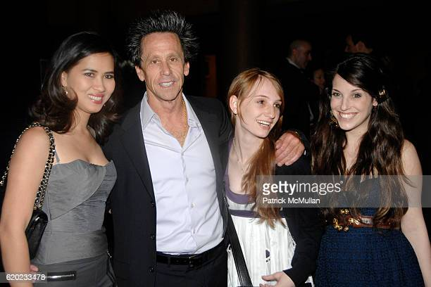 Chosan Nguyen Brian Grazer Lindsay Paige Grazer and guest attend CRYBABY Opening Night on Broadway at Marquis Theatre on April 24 2008 in New York...