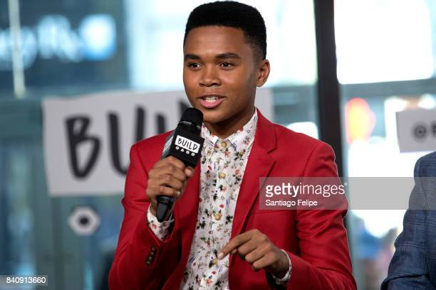 Chosen Jacobs attends Build Presents to dicuss the film 'IT' at Build Studio on August 30 2017 in New York City