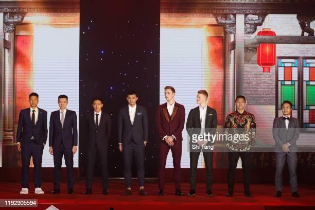 Chou Tien Chen, Wang Tzu Wei of Chinese Taipei, Kento Momota of Japan, Chen Long of China, Viktor Axelsen, Anders Antonsen of Denmark, Jonatan...
