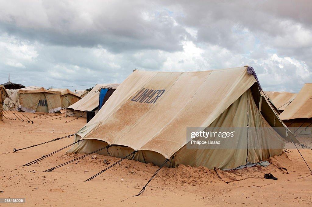 Choucha refugee camp : ストックフォト