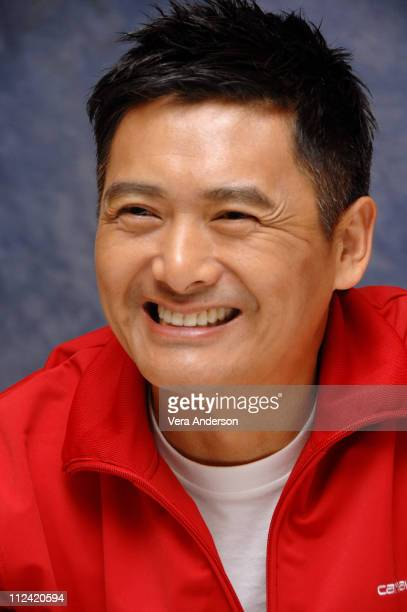 Chow YunFat during Pirates of the Caribbean At World's End Press Conference with Orlando Bloom Gore Verbinski Chow Yun Fat Geoffrey Rush Jerry...