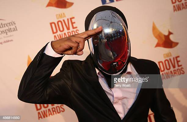 Cho'zyn Boy arrives at the 45th Annual Dove Awards at Allen Arena, Lipscomb University on October 7, 2014 in Nashville, Tennessee.