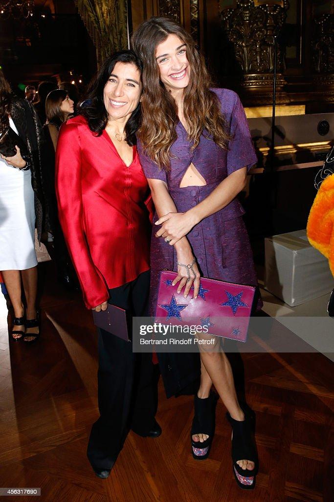 Stella McCartney : Front Row - Paris Fashion Week Womenswear Spring/Summer 2015