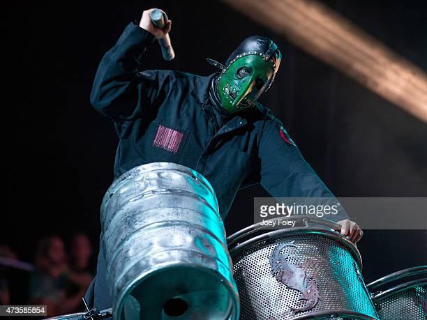 Chris #3 Fehn performs at MAPFRE Stadium on May 15 2015 in Columbus Ohio