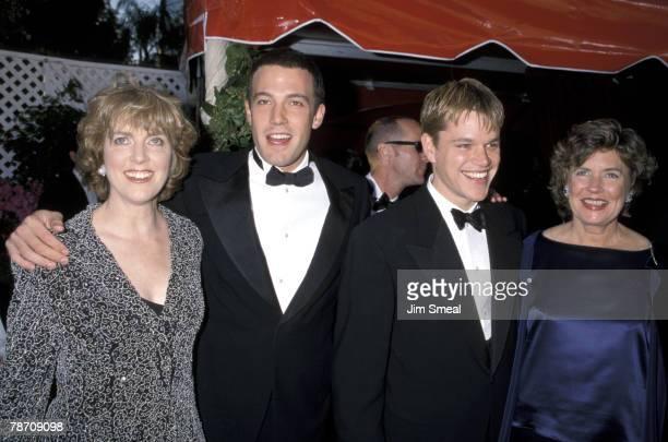 Chris Affleck Ben Affleck Matt Damon and mother Nancy CarlsonPaige