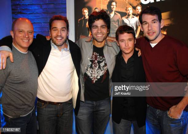 Chris Albrecht HBO Chairman and CEO Jeremy Piven Adrian Grenier Kevin Connolly and Doug Ellin *Exclusive*