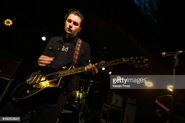 Chris Alderton of The Amazons performs at Whelan's on March 7 2017 in Dublin Ireland
