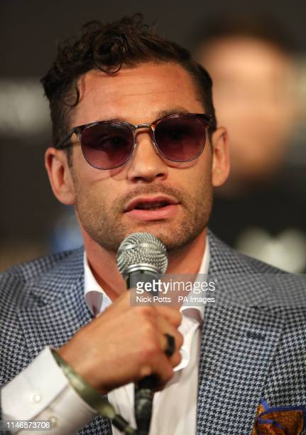 Chris Algieri during the undercard press conference at Madison Square Garden New York