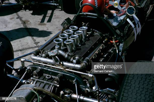 Chris Amon LotusBRM 25 Grand Prix of Germany Nurburgring 02 August 1964 Chris Amon in the BRM powered Lotus 25 entered by Reg Parnell