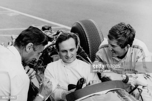 Chris Amon Roy Salvadori Jochen Rindt CooperMaserati T81 Grand Prix of France ReimsGueux 03 July 1966