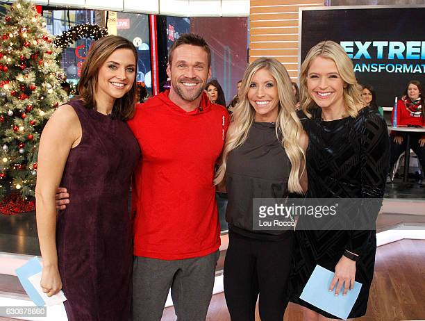 AMERICA Chris and Heidi Powell are guests on 'Good Morning America' 12/30/16 airing on the ABC Television Network PAULA