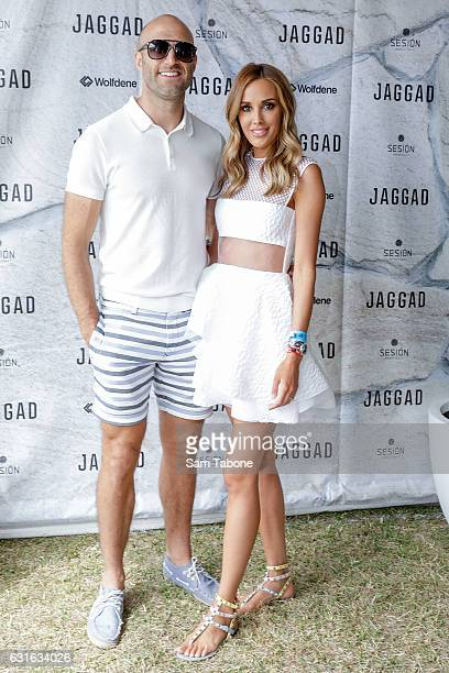 Chris and Rebecca Judd attend Portsea Polo on January 14 2017 in Melbourne Australia
