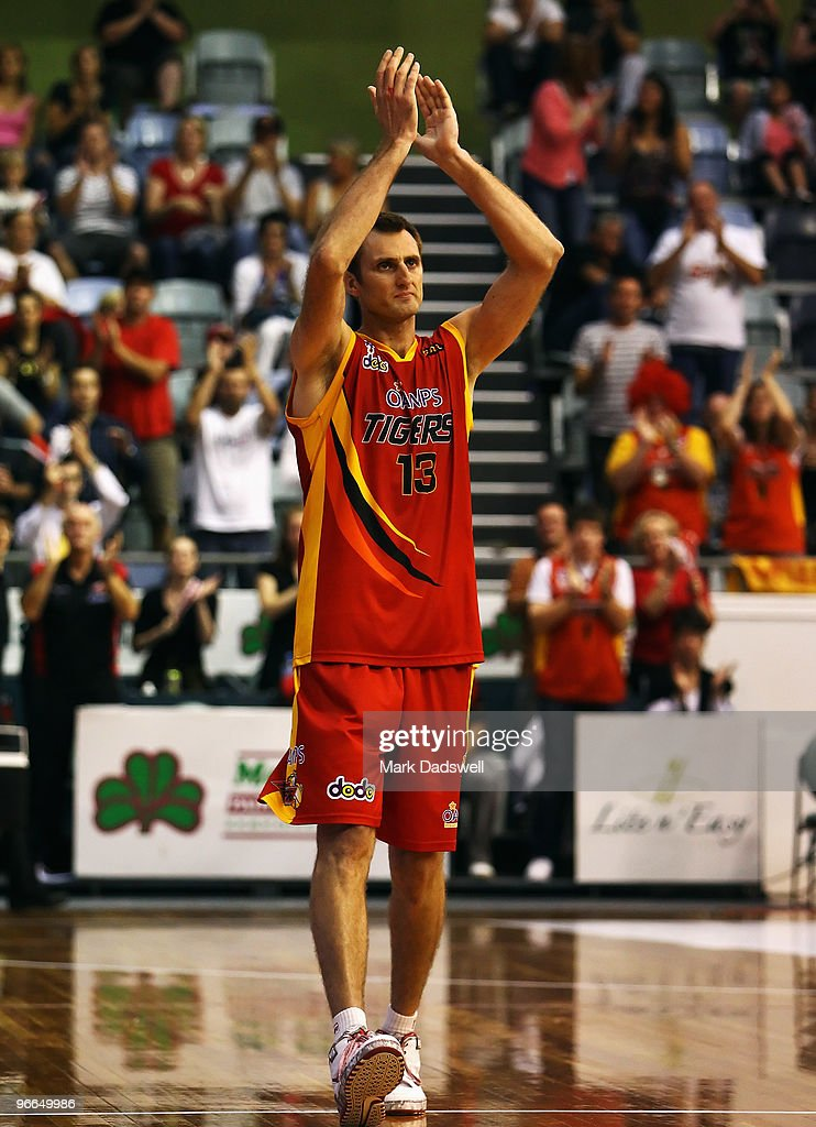 NBL Rd 20 - Tigers v Blaze : News Photo