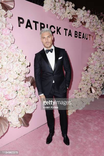 Chris Appleton attends Patrick Ta Beauty Launch on April 4 2019 in Los Angeles California