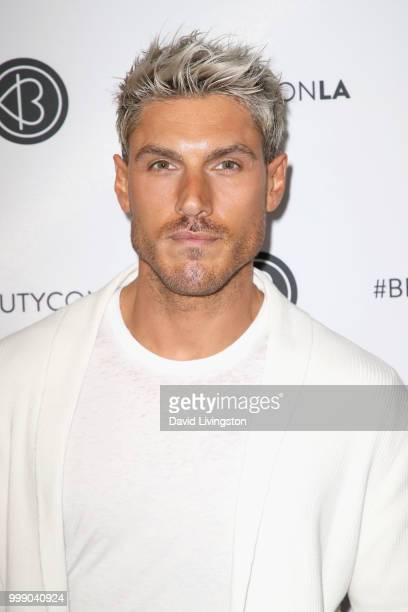 Chris Appleton attends the Beautycon Festival LA 2018 at the Los Angeles Convention Center on July 14 2018 in Los Angeles California