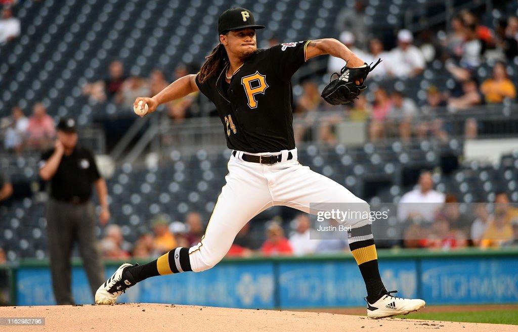 Washington Nationals  v Pittsburgh Pirates : News Photo