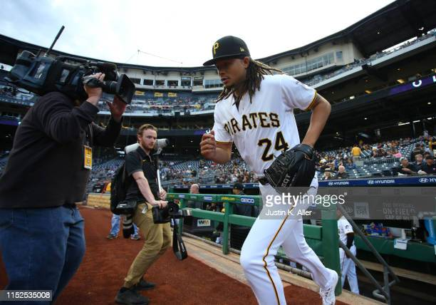 Chris Archer of the Pittsburgh Pirates in action against the Colorado Rockies at PNC Park on May 21, 2019 in Pittsburgh, Pennsylvania.