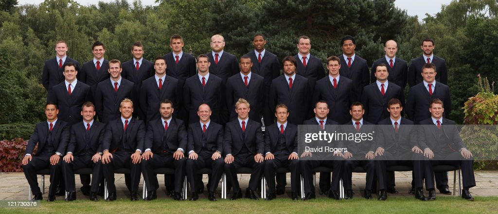 England RWC Squad Announcement And Training Session