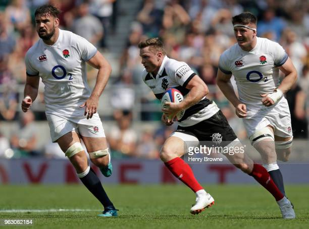 Chris Ashton of Barbarians during the Quilter Cup match between England and Barbarians at Twickenham Stadium on May 27 2018 in London England