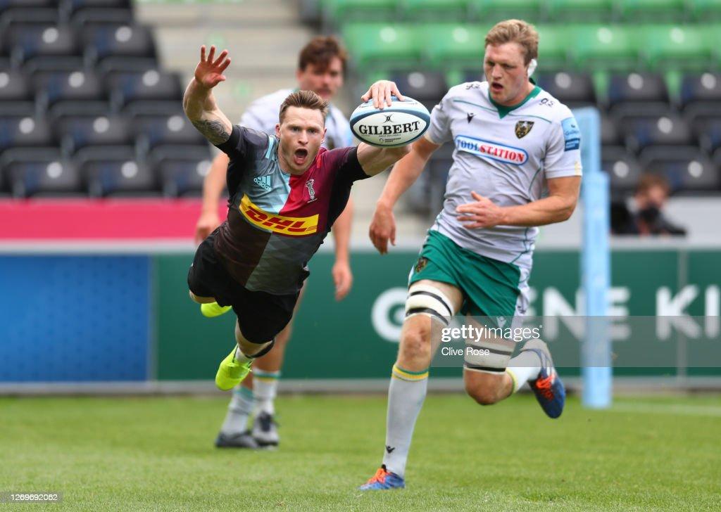 Harlequins v Northampton Saints - Gallagher Premiership Rugby : ニュース写真