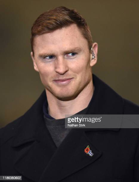 Chris Ashton of Sale Sharks looks on before the Gallagher Premiership Rugby match between Sale Sharks and Wasps at on November 08 2019 in Salford...