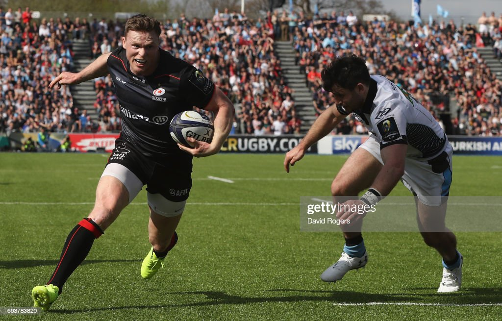 Saracens v Glasgow Warriors - European Rugby Champions Cup
