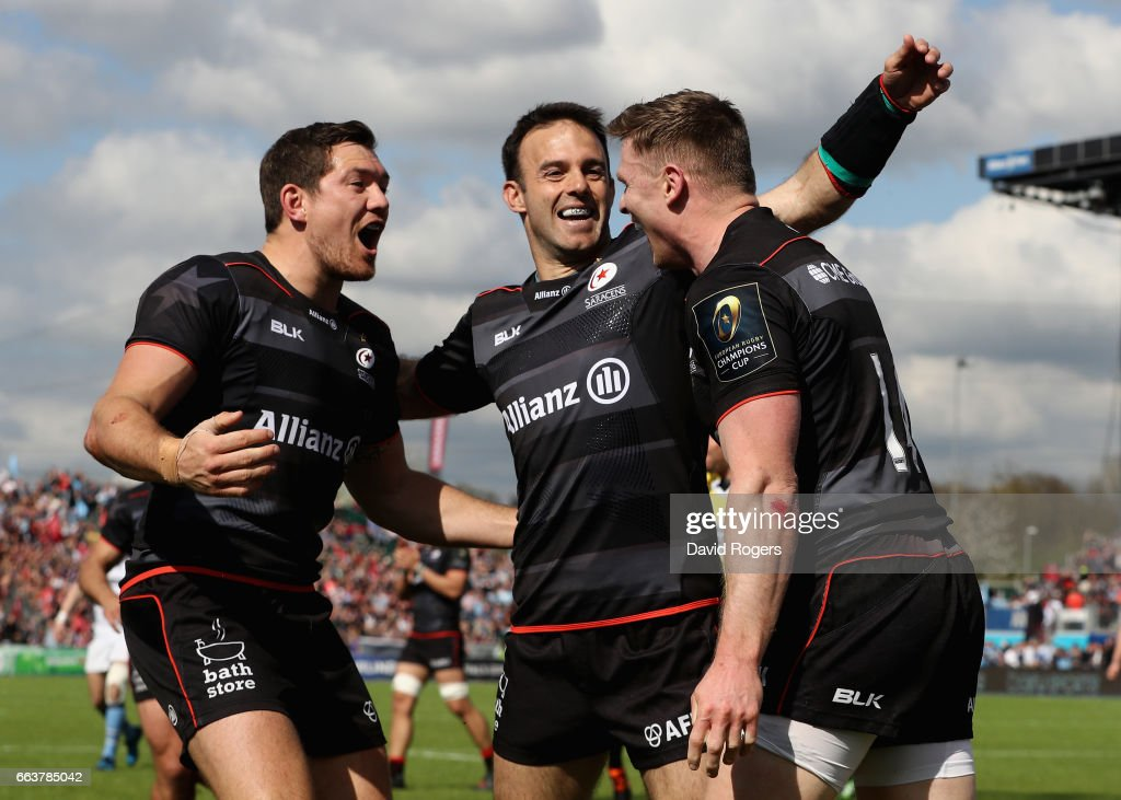 Saracens v Glasgow Warriors - European Rugby Champions Cup : News Photo