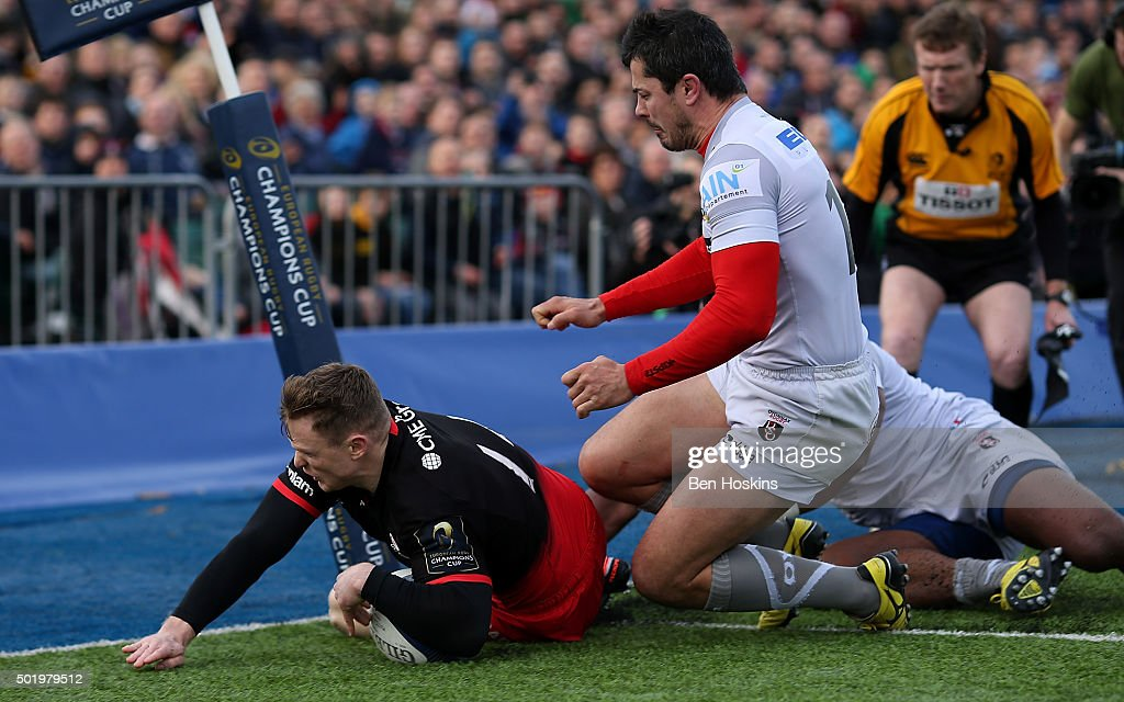 Saracens v Oyonnax - European Rugby Champions Cup : News Photo