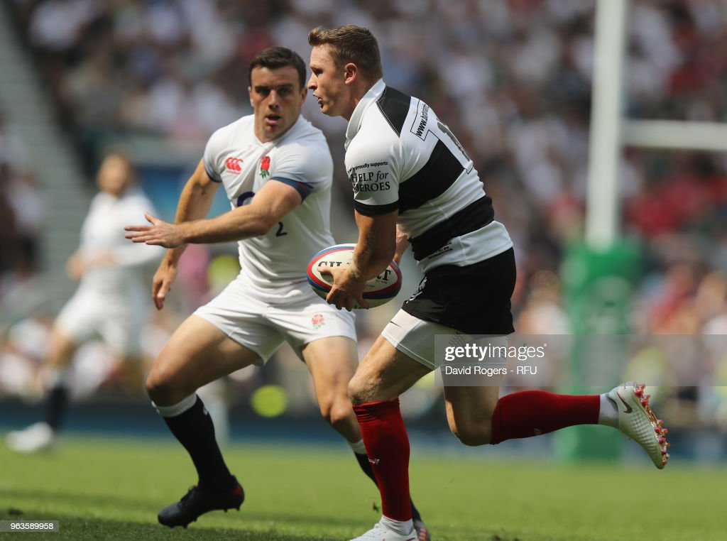 England v Barbarians - Quilter Cup : News Photo