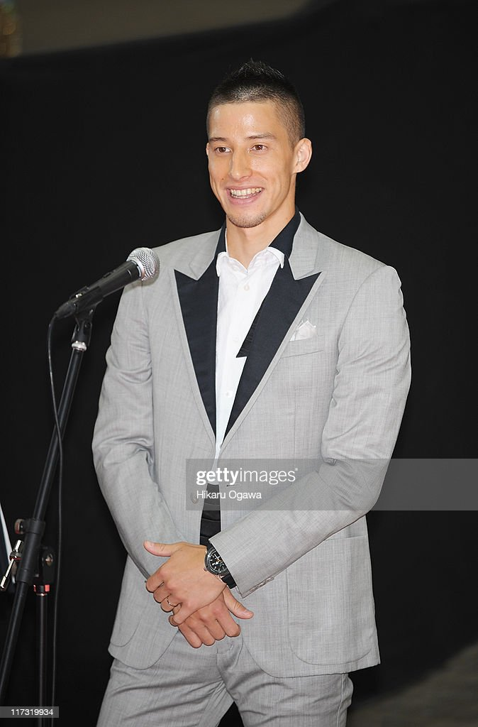 Chris attends the MTV Video Music Aid Japan at Makuhari Messe on June 25, 2011 in Chiba, Japan.