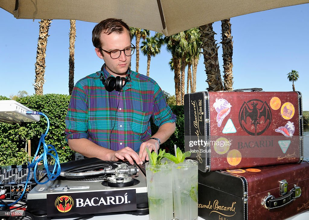 Chris Baio of Vampire Weekend attends the Soho House Pop Up with Bacardi during Coachella 2013 at Merv Griffin Estate on April 20, 2013 in La Quinta, California.