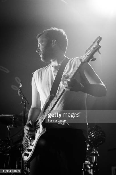 Chris Baio of Vampire Weekend performs at Enmore Theatre on January 09 2020 in Sydney Australia