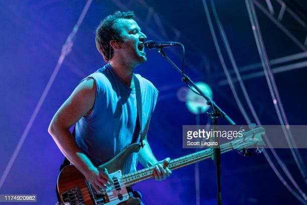 Chris Baio of Vampire Weekend performs on day 2 of Music Midtown at Piedmont Park on September 15 2019 in Atlanta Georgia