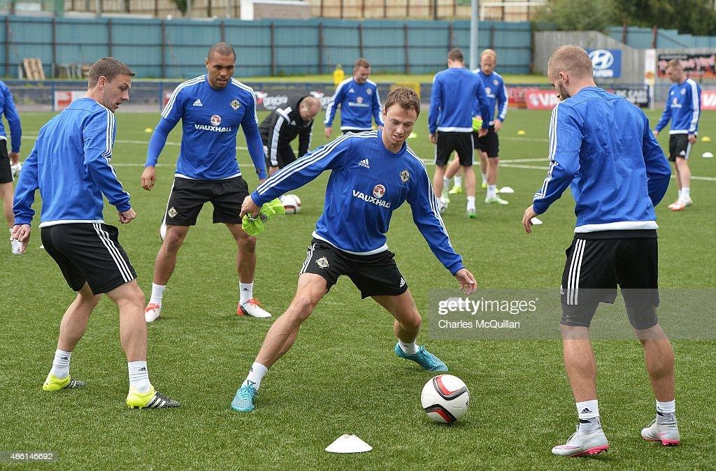 Northern Ireland Training Session : News Photo