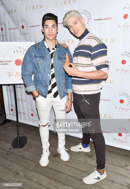 Chris Baris and Mario Adrion arrive at Worldwide Influence The Magazine Online Splashy Launch Celebration #wwitmlaunch at SIXTY Beverly Hills on...