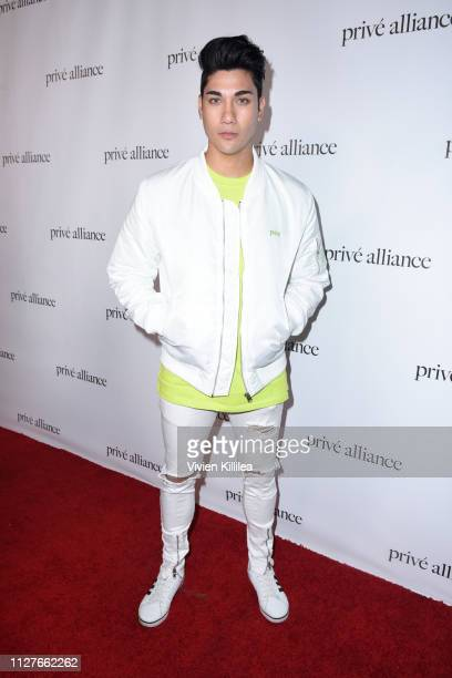 Chris Baris attends the Privé Alliance LA's Fashion Presentation with KPop Star Baekhyu at Academy LA on February 26 2019 in Los Angeles California