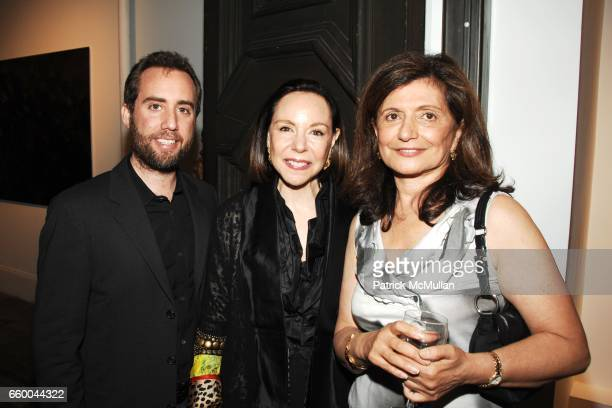 Chris Barish Michelle Cohen and Laila Levitas attend ANDREW LEVITAS works on canvas and steel curated by NEIL GRAYSON at Dactyl Gallery on May 9 2009...