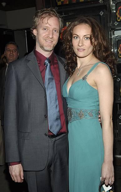 Chris Barron And Actress Laura Benanti Arrives At The Wedding Singer After Party