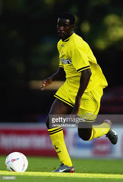 Chris BartWilliams of Charlton Athletic runs with the ball during the PreSeason Friendly match between Leyton Orient and Charlton Athletic held on...