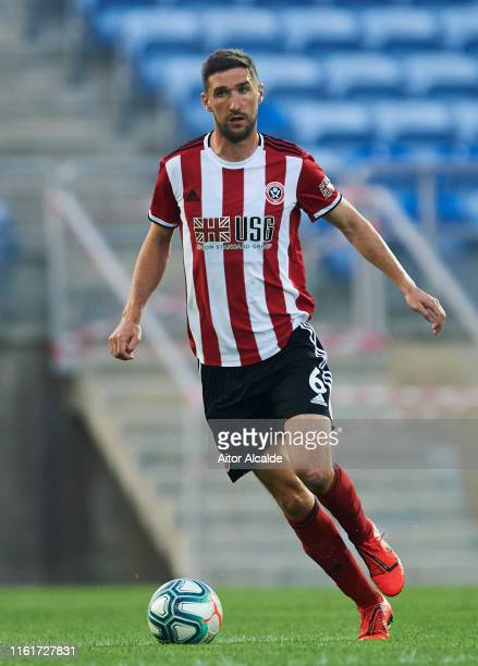 Chris Basham of Sheffield United in action during a preseason friendly match between Real Betis Balompie and Sheffield United FC at Estadio Algarve...