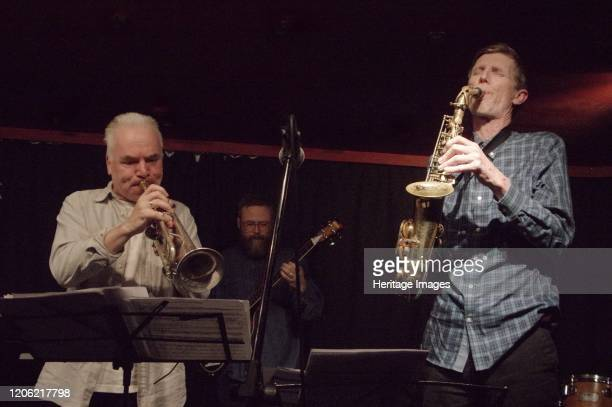 Chris Batchelor Steve Buckley, Verdict Jazz Club, Brighton, East Sussex, 13 Dec 2019. Artist Brian O'Connor.