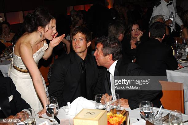 Chris Beckman and Sandy Gallin attend Vanity Fair Oscar Party at Morton's Restaurant on March 5 2006