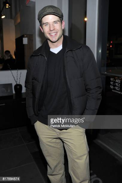 Chris Beckman attends 8TH ANNUAL BoCONCEPT/KOLDESIGN HOLIDAY PARTY at BoConcept on December 14 2010 in New York City