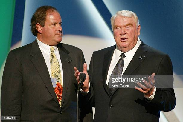 Chris Berman and John Madden at ESPN's 10th Annual Espy Awards at the Kodak Theatre in Hollywood Ca Wednesday July 10 2002 Photo by Kevin...